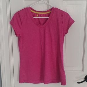 Hot pink Workout shirt